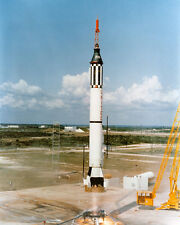 MERCURY-REDSTONE 3 8X10 PHOTO FIRST MANNED SPACE LAUNCH