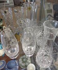 Georgian & Tutbury Crystal Cut Glass items - Perfect Present