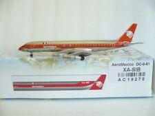 AeroClassics Aeromexico, Douglas Dc-8-51, Reg.#XA-SIB, 1:400 Scale, *Very Nice*