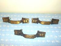 3 Vintage Brass Chest of Drawers Pulls Handles