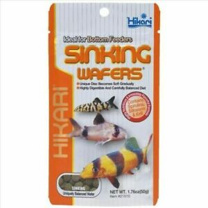 Hikari Sinking Wafers 50g Fish Food for Catfish, Loaches & Bottom Feeders