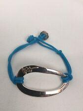 Ippolita sterling Silver 925 Blue Cord Bracelet