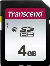 Transcend 4GB Class 10 SDHC Memory for Canon Powershot Point n Shoot ELPH Camera
