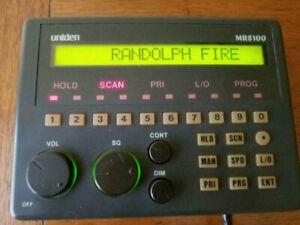 Uniden MR8100 Radio Scanner