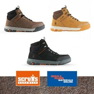Scruffs Switchback 3 Safety Boots - Aluminium Toe Cap - New 2021 Style All Style