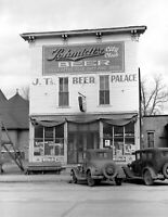 "1940 Beer Palace Scranton, Iowa Vintage Photograph 8.5"" x 11"" Reprint"