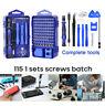 115 in 1 Mobile Cell Phone Screen Opening Repair Tools Kit Screwdriver Set