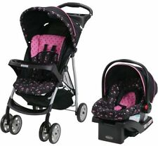 Graco LiteRider Click Connect Travel System, with SnugRide Click Connect 22 Car