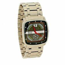 Neues AngebotBRANDNEU Herren d&g Uhr Silber Dolce & Gabbana Uhr RRP £ 185.00