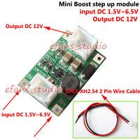 DC-DC Converter Step Up Boost Module DC 3.3V 5V 6V to 12V Power Supply Regulator