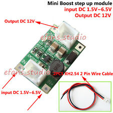 DC-DC Converter Step Up Boost Module DC 3.3V 5V 6V to 12V Power Supply Regulator