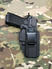 Black Kydex IWB Holster for SIG P320 Compact RX Optic Cut