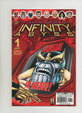 Infinity Abyss #1 - Thanos Cover! Jim Starlin - (Grade 9.2) 2002