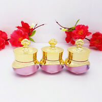 Crown Empty Pot Bottle Sample for Nail Art Makeup Cosmetic Cream Container HF