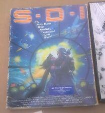 "S.D.I Cinemaware Interactive Movie Game Big Box IBM 5.25"" Disk Ultra Rare Gauran"