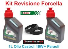 087 - Kit Castrol Fork Oil 15W + Paraoli Forcella HONDA CR 125 dal 1997 > 2004