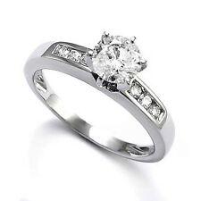 14k White Gold Diamond Engagement Ring Setting Mount #R1259