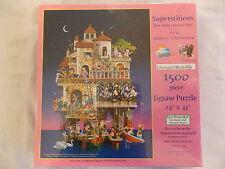 James Christensen Art Superstitions 1500  Piece Jigsaw Puzzle New