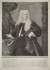 1738 Johann Christoph Bœuf à bœufs Pierre cuivre portrait Preissler lippoldt