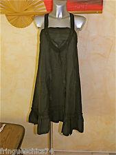 MARITHE FRANCOIS GIRBAUD robe + jupon marine en rami TAILLE L  NEUVE ÉTIQUETTE