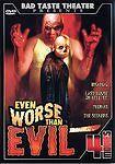 Bad Taste Theatre Presents Even Worse Than Evil (DVD, 2005, 2-Disc Set) 4 Movies