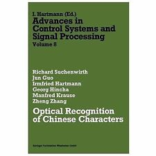 Optical Recognition of Chinese Characters Vol. 8 by Richard Suchenwirth...