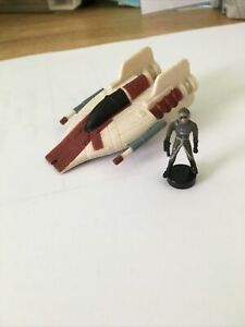Star Wars Micro Machines A-Wing & Pilot