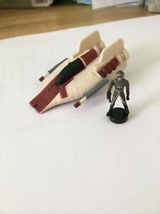 Star Wars Micro Machines A-Wing & Pilot