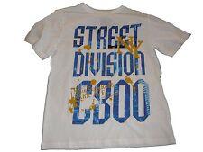 NEU Yigga tolles T-Shirt Gr. 146 / 152 weiß mit blauem Schriftzugdruck !!