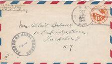 Aruba, 1944, Cover, US Navy 155, to USA