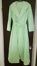 Vintage EVE STILLMAN ORIGINAL - Quilted Robe - mint green. Medium