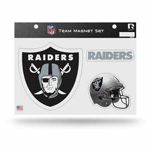 Rico NFL Oakland Raiders Team Magnet Set