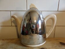 CLASSIC ART DECO ORIGINAL STUNNING INSULATED TEAPOT WITH BAKERLIGHT AND CHROME