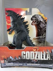 "2014 BANDAI AMERICA 7"" Godzilla Legendary 14"" Head To Tail NEW IN BOX!"