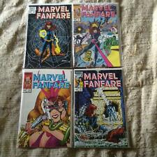Marvel Fanfare 10,11,12,13 1st Appearance/Cover of Iron Maiden - ALL NM -