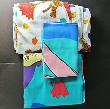 3pc Flat,Fitted,Pillow Case Twin Set Winnie the Pooh,Tigger Too from Disney