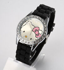 Reloj HELLO KITTY  watch Negro Precioso  A1129