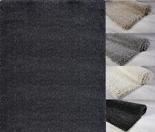 Gray Beige Anti Skid 2x5 4x5 5x7 Shaggy Area Rug Room Carpet Solid Fluffy Mat