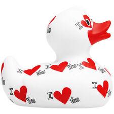 Luxury I Love You Duck - Bud Ducks - Badeente Quietscheente Quietscheentchen