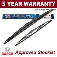 "Bosch Super Plus U-Hook Front Wiper Blades Set 530/475mm 21/19"" SP21/19S"