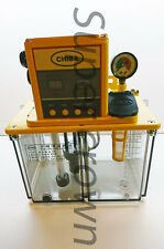 Chiba CNC Lube Pump 4L Tank for Industrial Machines w/ Pressure Relief CE 220V