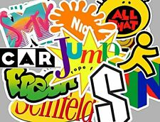 90's Sticker Set - Seinfeld - all that - mtv - Retro Stickers - MADE IN USA