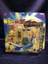 Dragon Ball Z SS Goten + SS Trunks + SS Gotenks Art of Fusion Action Figures