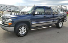 "1999-2006 Chevy Silverado 4Dr Extended Cab Short Bed Rocker Panel Trim 6""w/Flare"