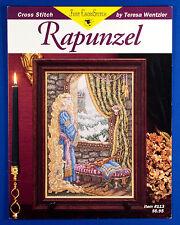 OOP Rapunzel Cross Stitch Pattern Chart Booklet by Teresa Wentzler - Fairy Tale