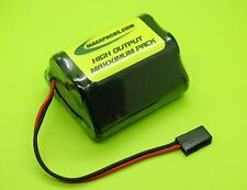 SANYO 6v 4/3 A 4000 HUMP RX RECEIVER BATTERY FOR RC AIRPLANES /  J / MADE IN USA