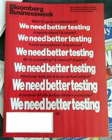 BLOOMBERG BUSINESSWEEK MAGAZINE OCTOBER 5 2020- WE NEED BETTER TESTING