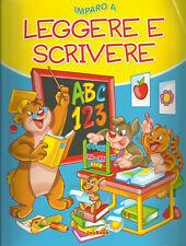 Imparo a leggere e scrivere - Kindersachbuch Italienisch