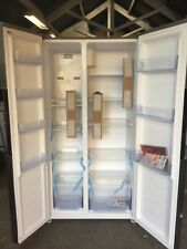 Swan SR15640S Total No Frost American Style Fridge Freezer-Stainless Steel / NEW