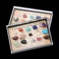 Chakra Healing Crystals Reiki Stone Natural Tumblestones Gemstone Set of 15